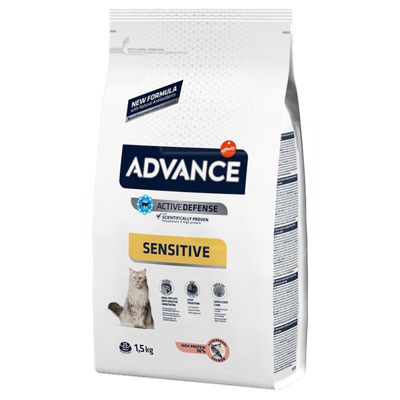Advance Somon Balığı Ve Pirinçli Yetişkin Kedi Maması 1,5 Kg | 81,52 TL