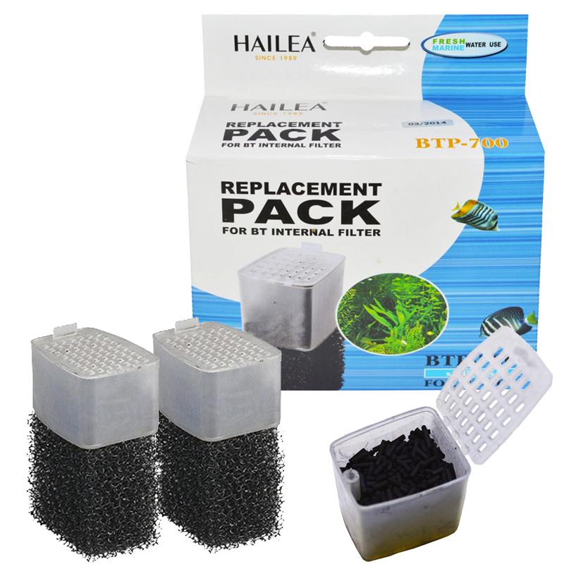 Hailea BTP-700 İç Filtre Karbon Ve Sünger Yedek Malzemesi 2 Adet | 16,53 TL