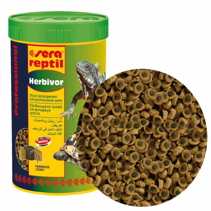 Sera Reptil Herbivor Otçul Kaplumbağa Ve İguana Yemi 80 gr   52,19 TL