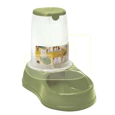Stefanplast Hazneli Mama Kabı Yeşil 1,5 Litre   37,53 TL