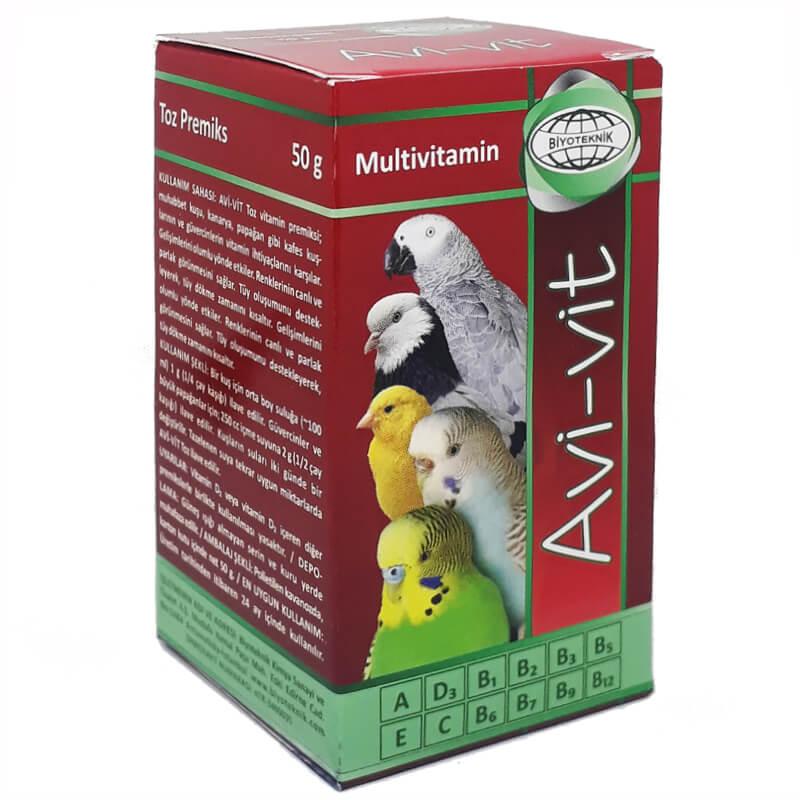 Avivit Kuş Vitamini Besin Takviyesi 50 gr | 22,11 TL