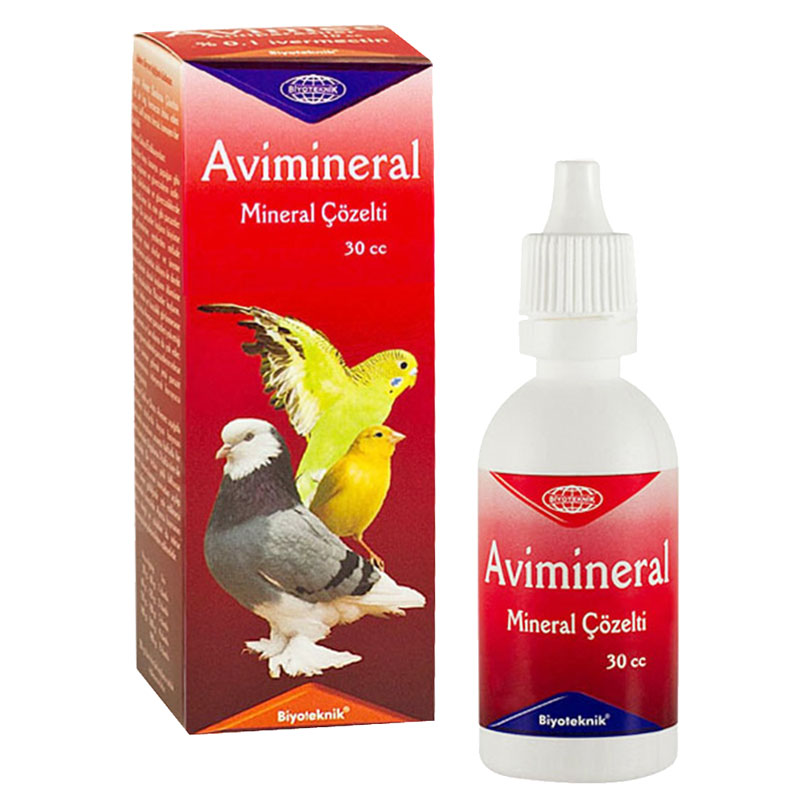 Avi Mineral Kuşlar İçin Mineral Solüsyonu 30 cc | 16,06 TL