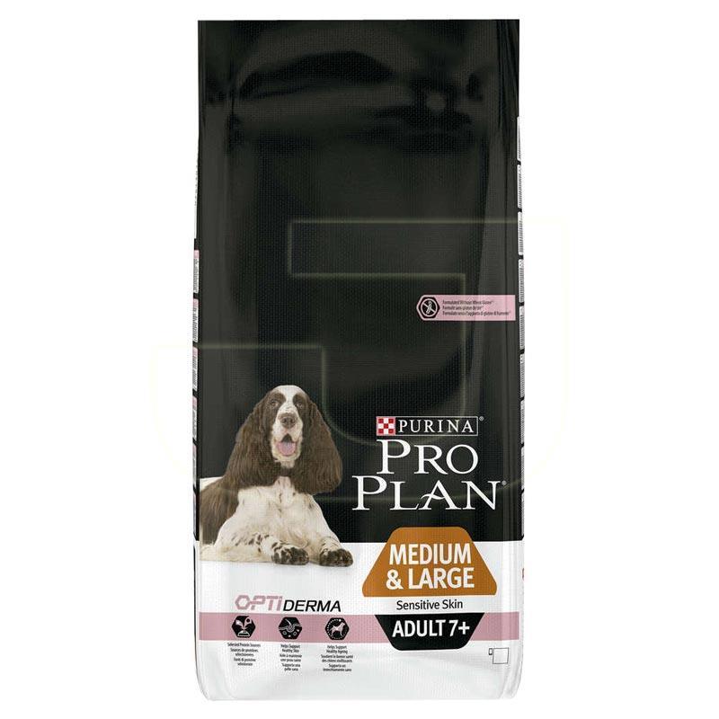 ProPlan Opti Derma Medium Large 7+ Somonlu Yaşlı Köpek Maması 14 Kg | 334,42 TL