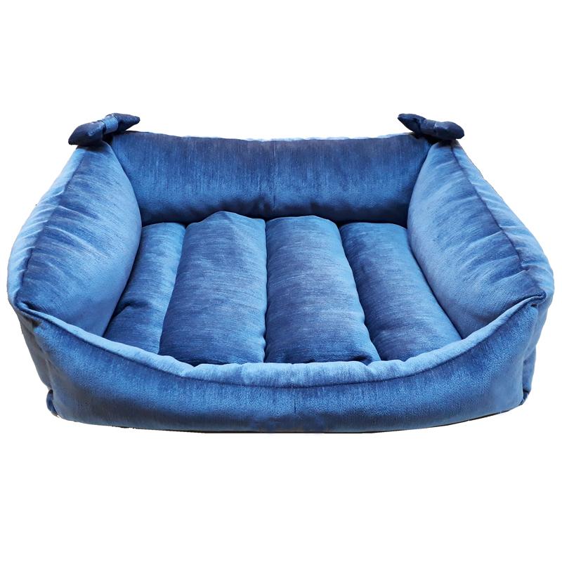 Puki Mavi Divan Kedi Ve Köpek Yatağı No.2 70 cm | 137,64 TL