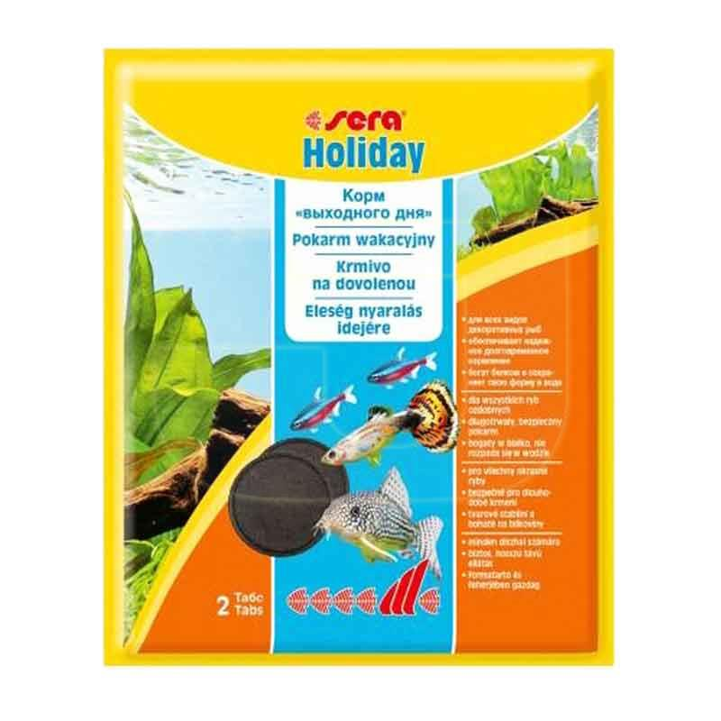 Sera Holiday Balıklar İçin Tatil Yemi 2 Tablet 4,4 gr | 8,78 TL