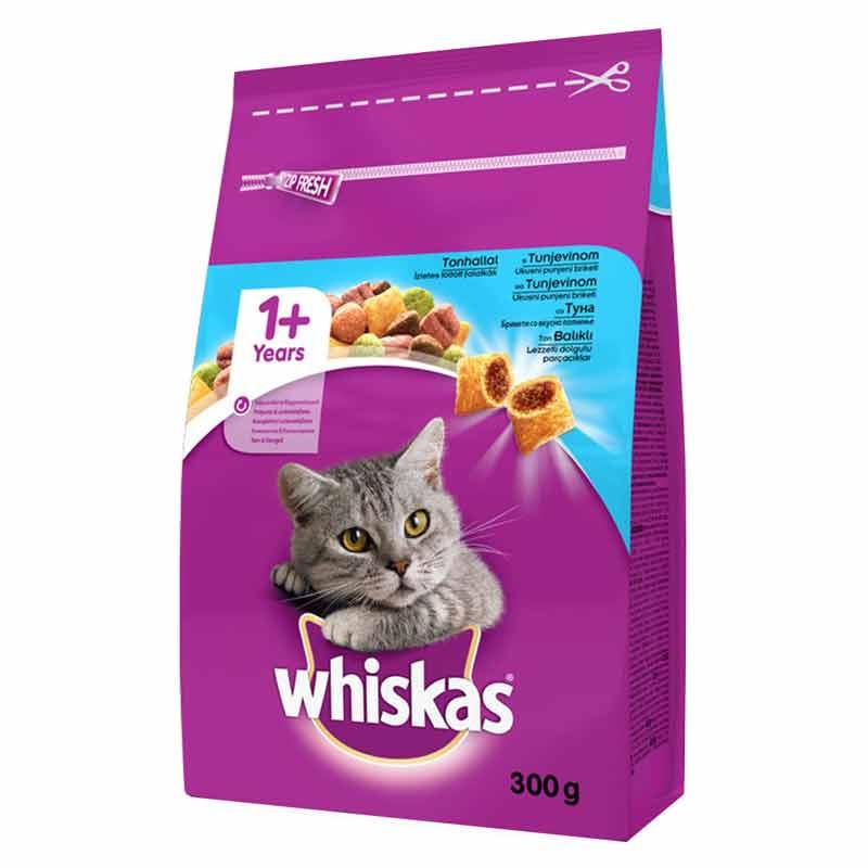 Whiskas Ton Balıklı Ve Sebzeli Yetişkin Kedi Maması 300 gr | 12,38 TL