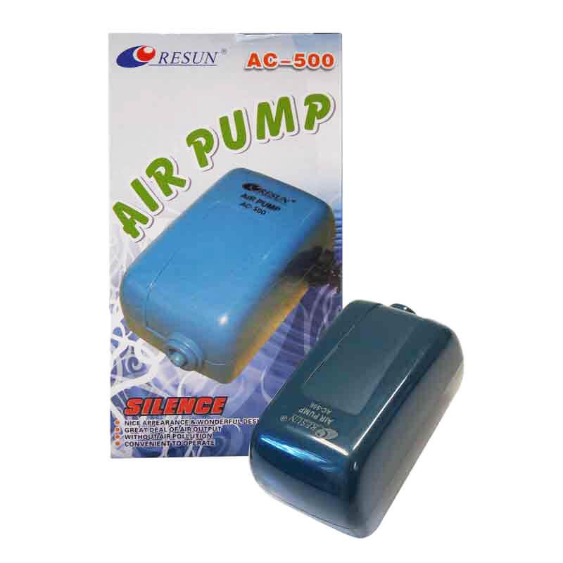 Resun AC-500 Akvaryum İçin Tek Çıkışlı Hava Motoru 2 Watt   55,51 TL