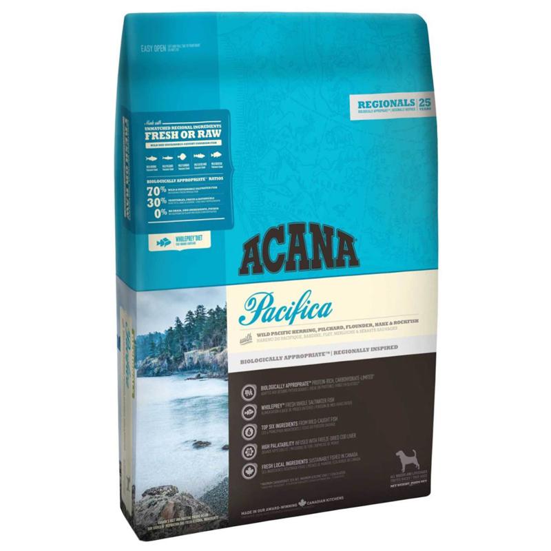 Acana Pacifica Balık ve Sebzeli Tahılsız Köpek Maması 2 kg   219,05 TL