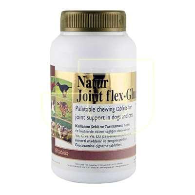 Natur Joint Flex Glucosamin Kedi Ve Köpekler İçin Eklem Sağlığını Destekleyici Glukozamin Tablet 60 Adet | 83,59 TL