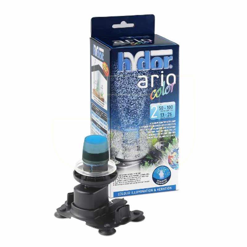 Hydor Ario 2 Color Mavi Lambalı Hava Motoru | 104,42 TL