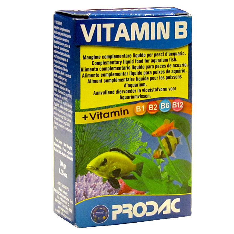 Prodac Akvaryum Balıkları İçin Vitamin B 30 gr | 19,98 TL