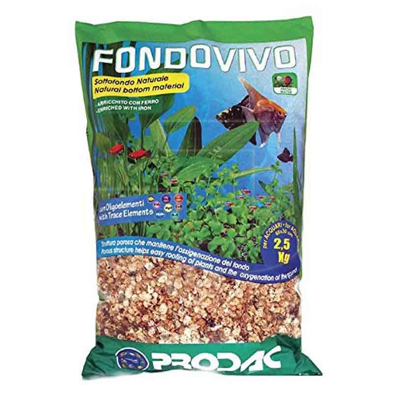Prodac Fondo Vivo Akvaryum Bitki Gübresi 2,5 Kg | 58,32 TL