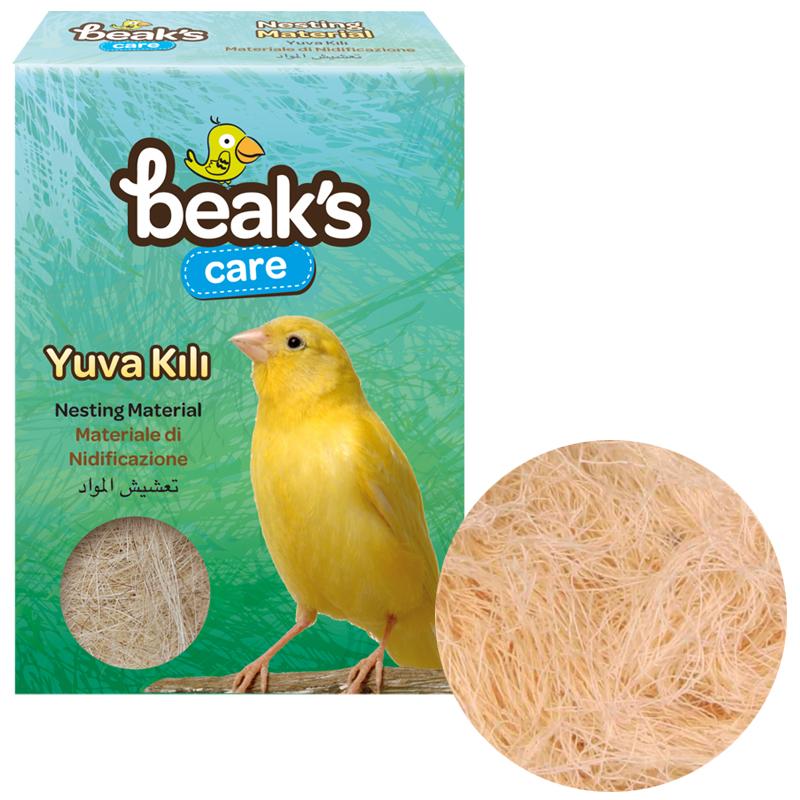 Beaks Kuşlar İçin Doğal Yuva Kılı | 3,21 TL