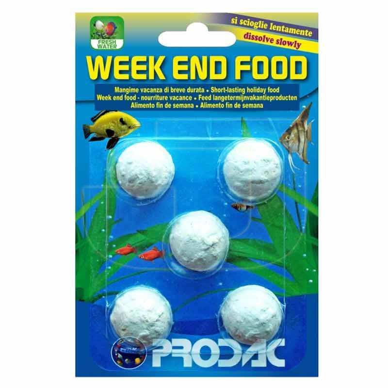 Prodac Weekend Balıklar İçin Tatil Yemi 5 Adet 25 gr | 9,89 TL