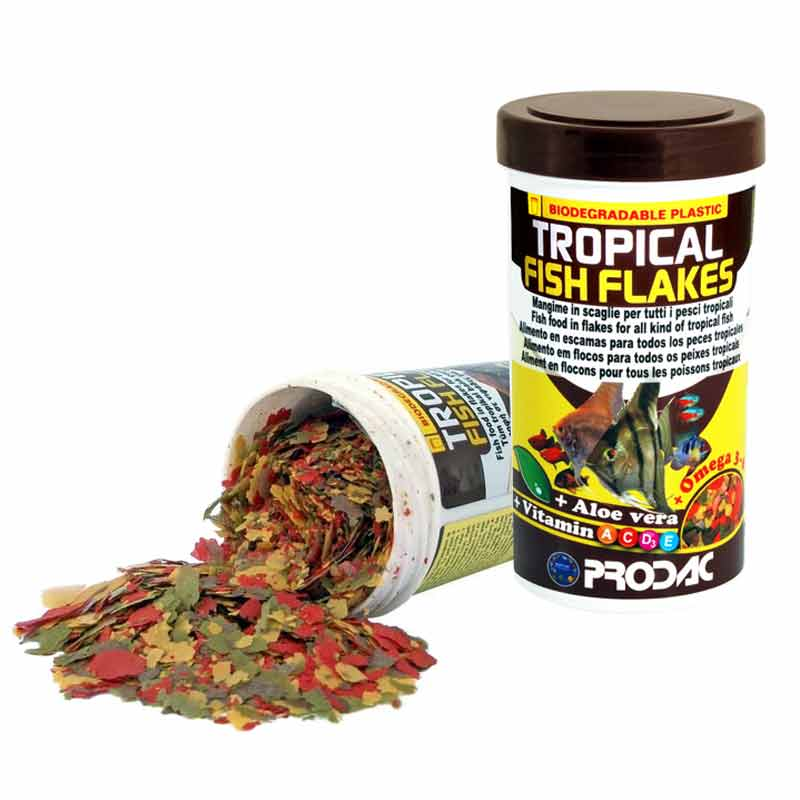 Prodac Fish Flakes Tropikal Pul Balık Yemi 250 ml | 25,50 TL