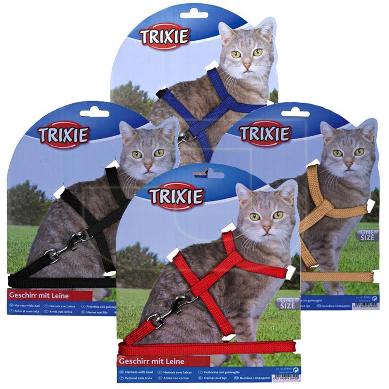 Trixie Naylon Kedi Göğüs Tasması Takımı 22/42 cm 10 mm | 76,13 TL
