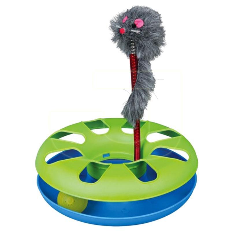 Trixie Peluş Fareli Yaylı Çember Kedi Oyuncağı 24 cm | 127,76 TL