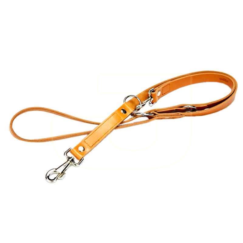 Doggie Çok Amaçlı Deri Köpek Gezdirme Tasması Kırmızı 2,5 x 190 cm | 159,30 TL