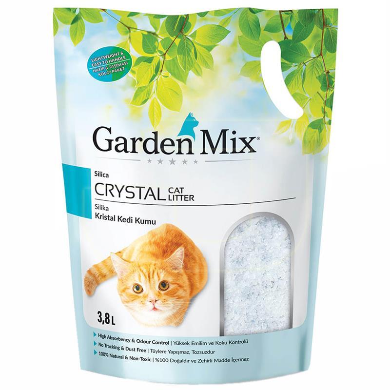 Garden Mix Silika Kristal Kedi Kumu 3,8 Litre | 48,58 TL