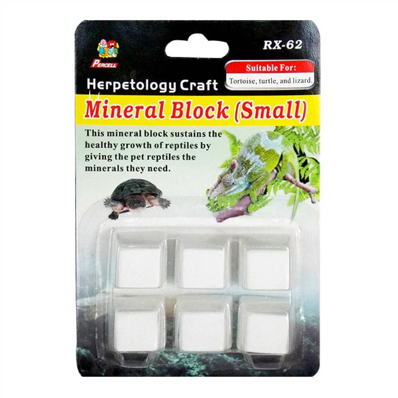Percell Sürüngenler Ve Kaplumbağa İçin Mineral Blok 6 Adet | 4,02 TL