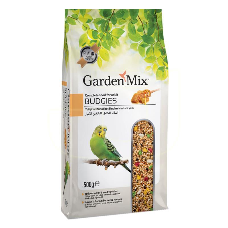 Garden Mix Super Premium Ballı Muhabbet Kuşu Yemi 500 gr | 8,24 TL