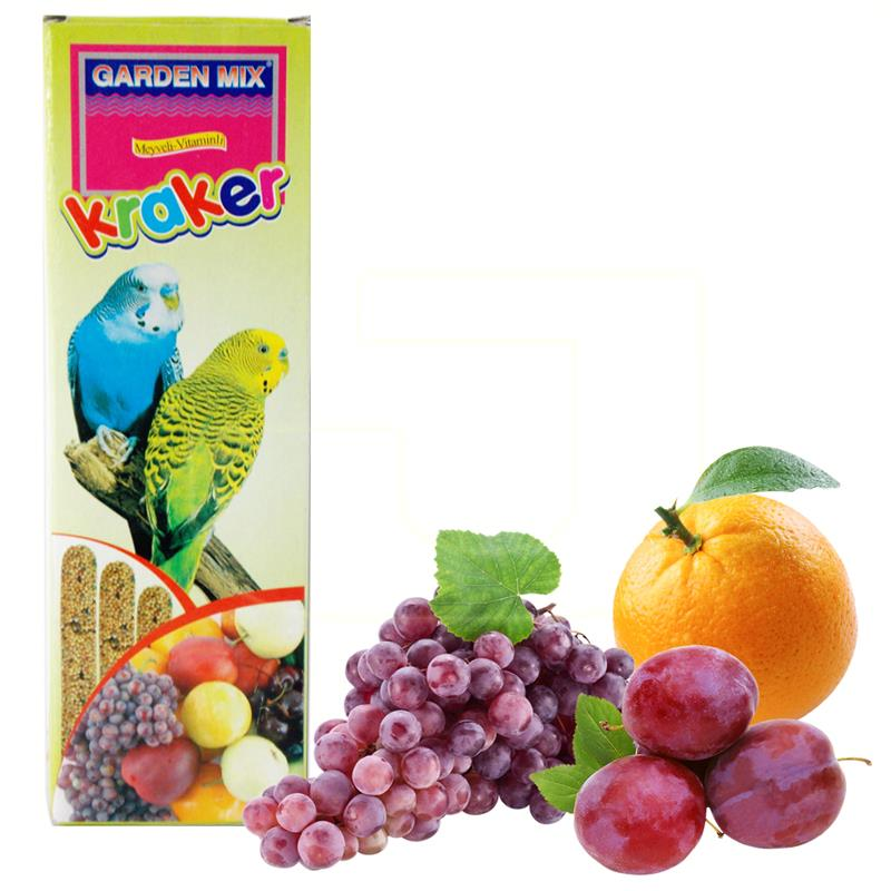 Garden Mix Meyveli Muhabbet Kuş Krakeri 3 Adet   3,40 TL