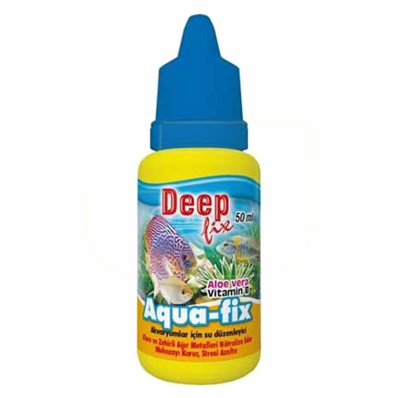 Deep Fix Aqua Akvaryum Su Düzenleyici 50 ml | 10,17 TL