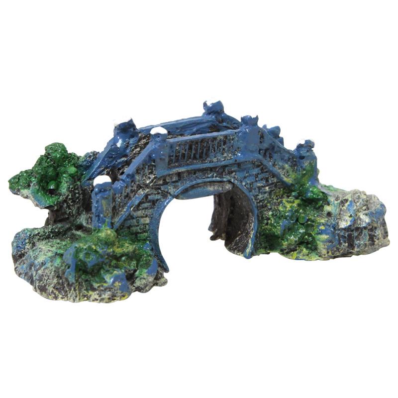 Tisert Akvaryum Dekoru Küçük Köprü 10 cm | 7,55 TL