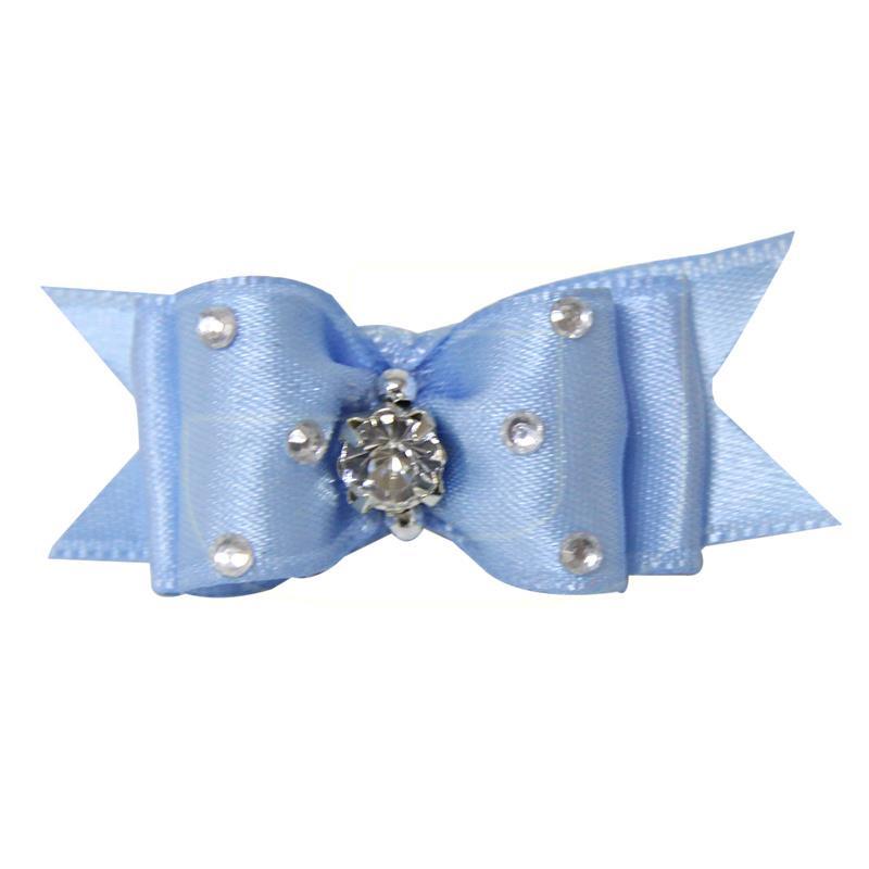 Üç Taşlı Açık Mavi Köpek Tokası 5 cm | 10,03 TL