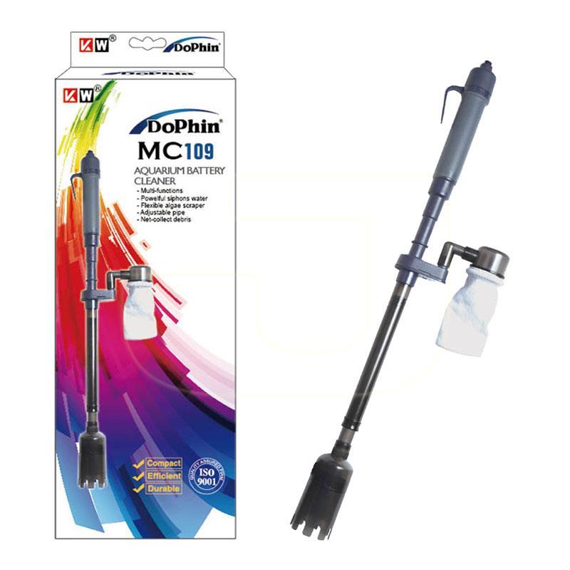 Dophin Akvaryum Temizliği İçin Pilli Dip Süpürgesi   139,44 TL