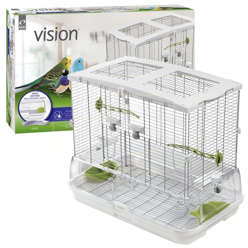 Hagen Vision M01 Muhabbet Kuşu Ve Küçük Papağan Kafesi 60,9x38,1x52 cm   1.420,59 TL