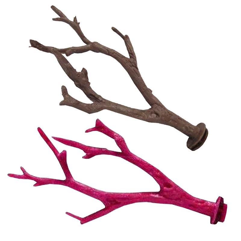 Kardelen Plastik Ağaç Dalı Tünek 24 cm   10,13 TL
