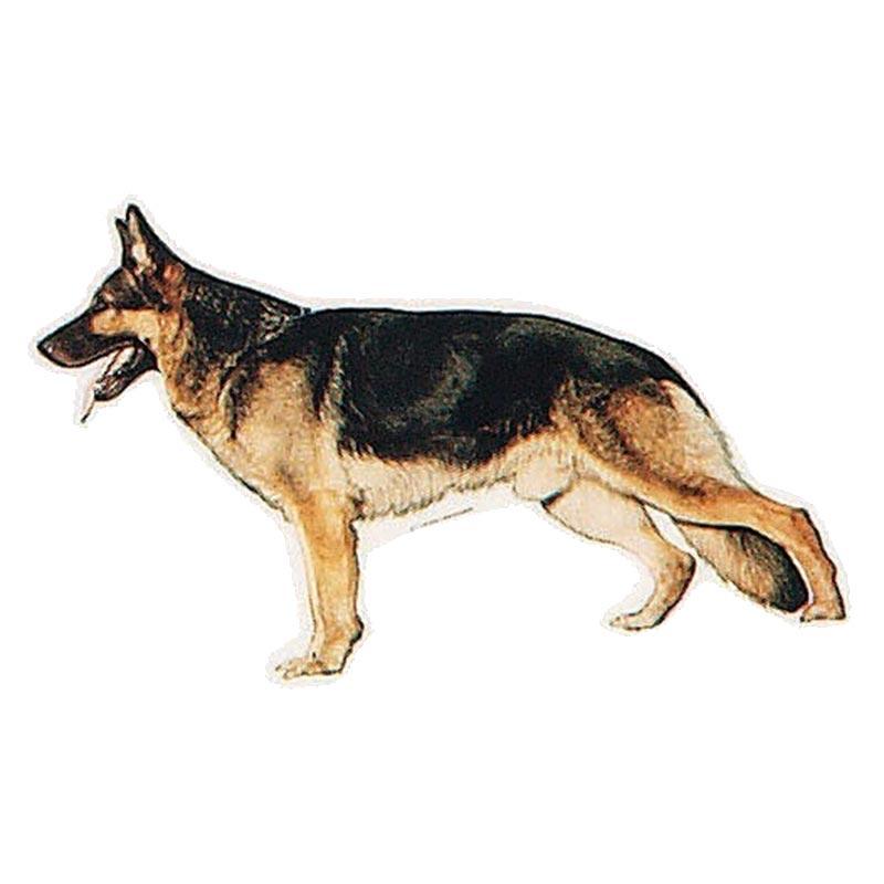 Trixie Alman Kurdu Yapışkanlı Sticker Köpek Çıkartması 18 cm | 14,24 TL