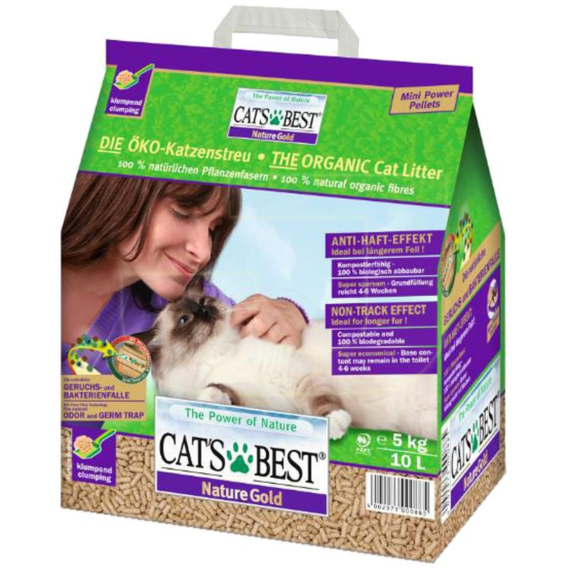 Cats Best Nature Gold Organik Kedi Kumu 10 Litre | 150,51 TL